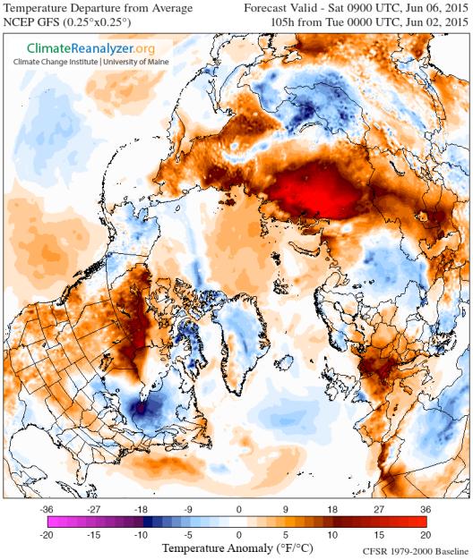 Arctic Heatwave June 6