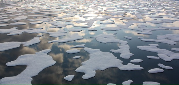 """On July 20, the U.S. Coast Guard Cutter Healy steamed south in the Arctic Ocean toward the edge of the sea ice.  The ICESCAPE mission, or """"Impacts of Climate on Ecosystems and Chemistry of the Arctic Pacific Environment,"""" is NASA's two-year shipborne investigation to study how changing conditions in the Arctic affect the ocean's chemistry and ecosystems. The bulk of the research takes place in the Beaufort and Chukchi seas in summer 2010 and 2011.  Credit: NASA/Kathryn Hansen  NASA image use policy.  NASA Goddard Space Flight Center enables NASA's mission through four scientific endeavors: Earth Science, Heliophysics, Solar System Exploration, and Astrophysics. Goddard plays a leading role in NASA's accomplishments by contributing compelling scientific knowledge to advance the Agency's mission.  Follow us on Twitter  Like us on Facebook  Find us on Instagram"""